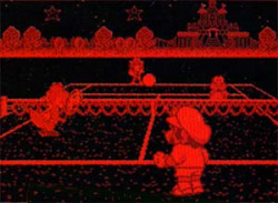 Mario's Tennis lacked the charm of the later games in the series.