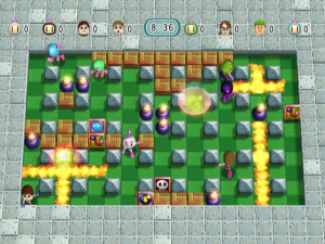 Everyone's favourite arsonist - Bomberman!