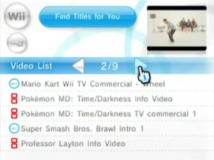 Now you can see information about Wii and DS stuff all the time!