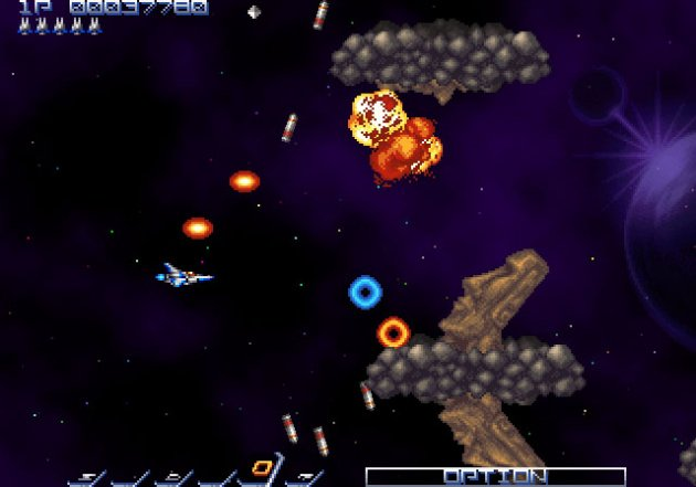 Gradius is reborn on WiiWare!