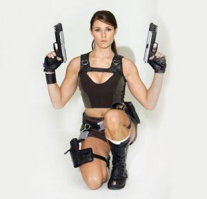 Alison Carroll, the new Lara Croft