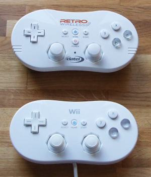 Comparison to the Classic Controller