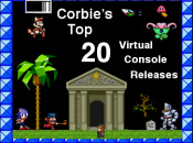Corbie's Top 20 Virtual Console Releases - Part 2