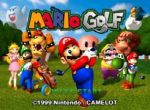 Tee up with Mario and friends!