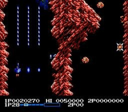 Life Force - Gradius with both horizontal and vertical sections!