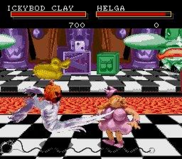 ClayFighter - Graphics? Alright. Everything else? Bad!