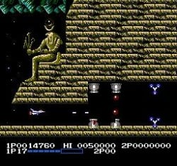 Arguably the NES's greatest shoot 'em up, Life Force