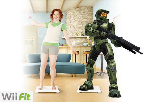 """""""Honey, stop hogging the TV. I need to frag some nOObs."""""""