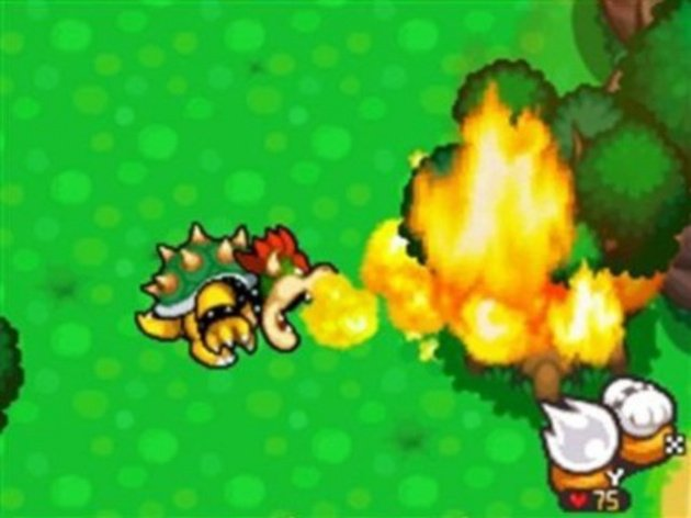 Bowser hates trees, it would seem!