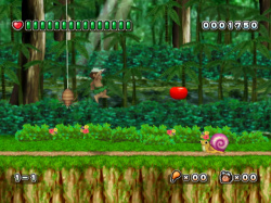 WiiWare Adventure Island is a 2.5D tribute to the original
