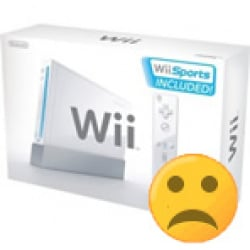 Wiis are sad not to be so cheap