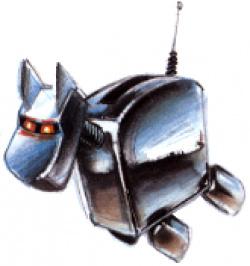 Futuristic dog