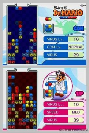 Portable Dr. Mario - But without multiplayer!