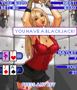 Now that's Blackjack!