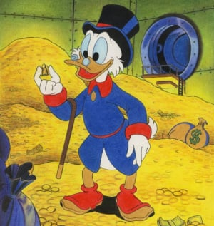 Inspired by Scrooge McDuck