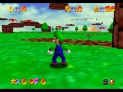 You got your Luigi in my Mario 64!