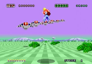 Finally, the best version of Space Harrier!