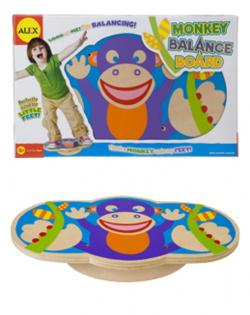 Monkey Balance Board!!
