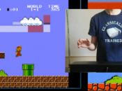 Play Super Mario Bros. With...A Theremin?