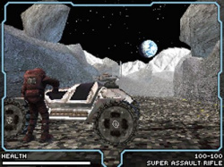 Moon showcases some of the best 3D visuals yet seen on the DS