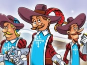 The Three Musketeers: One for All! Coming to North America on Monday
