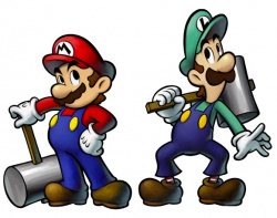 Check out the Mario Bros. in action!