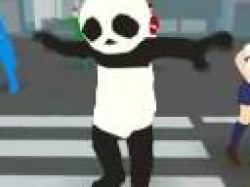Dancing pandas are go!