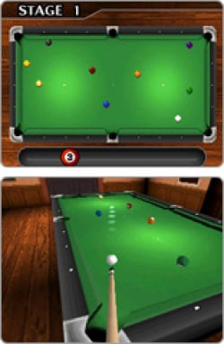 Billiards on your DSi
