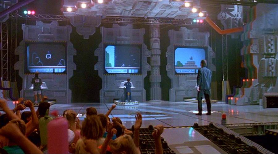"Holland: ""The Video Armageddon interiors were all shot at Cal Arts University in their big modular auditorium."""