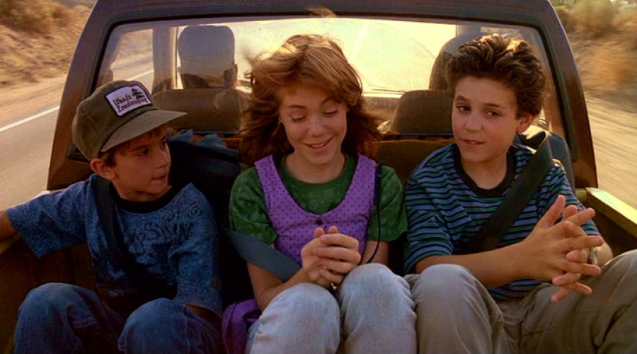 Jimmy (Luke Edwards), Haley (Jenny Lewis) and Corey (Fred Savage)