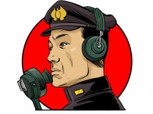 """Japanese radioman """"Oka"""""""