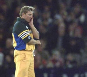 There there Warney, it's all right...