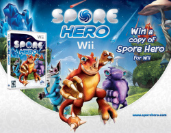 Win a copy of Spore Hero (Wii) from EA