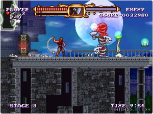 Lovely retro Castlevania goodness