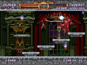 The first Castlevania game to include hover boots. FACT.