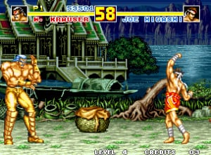 It's Fatal Fury II, but _special_