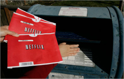 Put your mail-man out of business with: Netflix for Wii™!