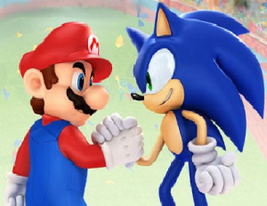 """You know I'd only win the race anyway, Sonic"""