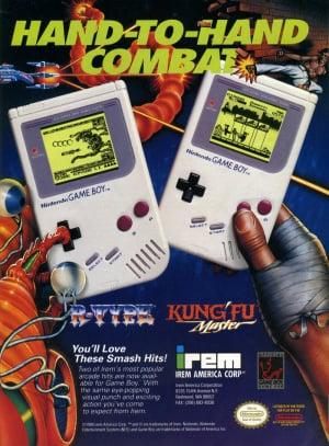 The Game Boy witnessed a flood of software, including some noted arcade covnersions - even though the hardware arguably wasn't up the task of replicating the experience