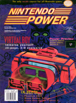 Nintendo Power attempted to hype up the US launch of the machine, with little success