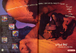 American adverts were predictably awful; playing Virtual Boy turns you into a caveman, apparently