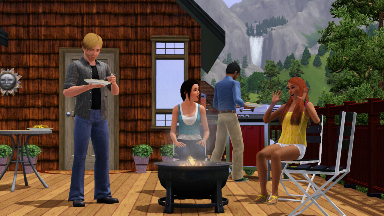 the sims 3 coming to wii ds with exclusive features nintendo life