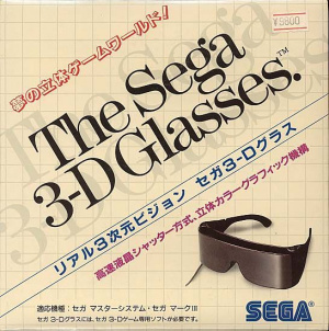 Sega obviously really loves 3D