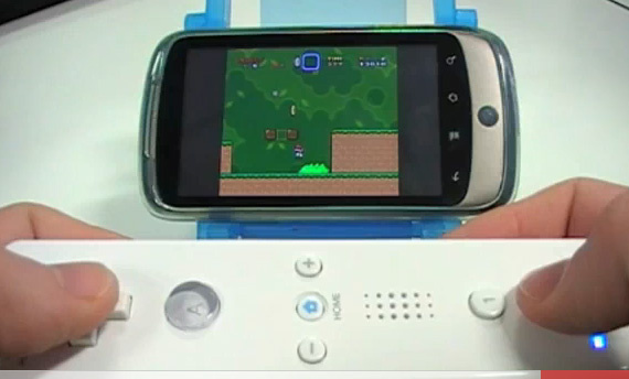control wii with android