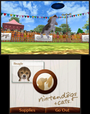 Miis, dogs and Frisbees return