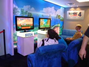 Sonic goes retro!