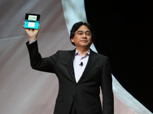 Mr Iwata showing off Corbie's new favourite toy