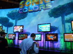 Sonic Colors in action!