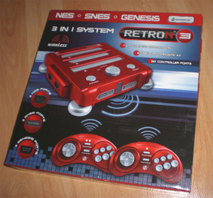 It may not be the most attractive console in the world but the Retron3 has power under the hood