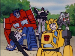 Bumblebee never could forgive Optimus for making Mario sound so spineless